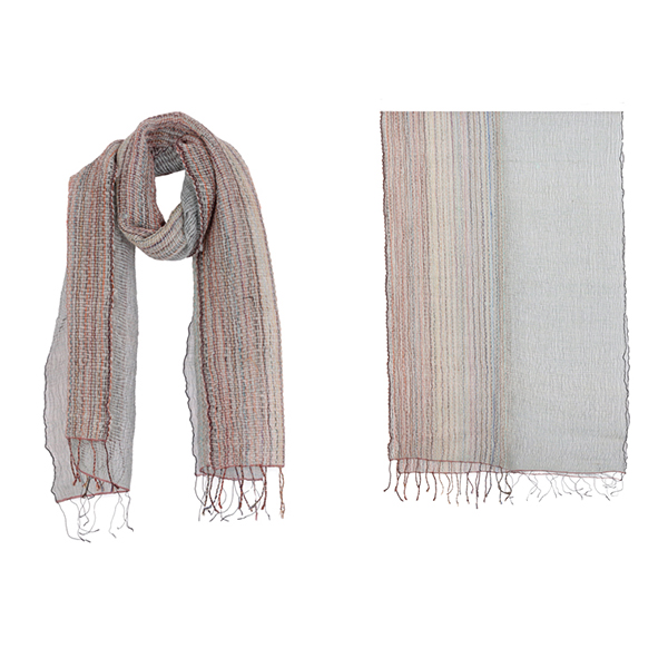 "002-003 TOKYO SCARF  50% Wool, 50% Silk;Handwoven;20"" X 71"""