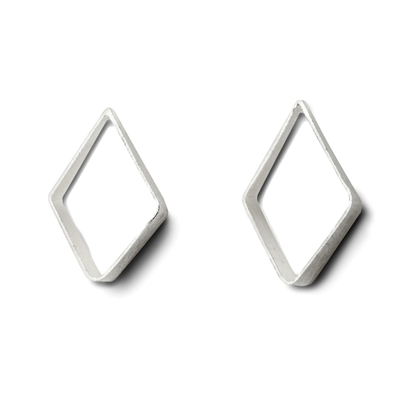 KO334   DIAMONDA EARRINGS    Kaotica Finish