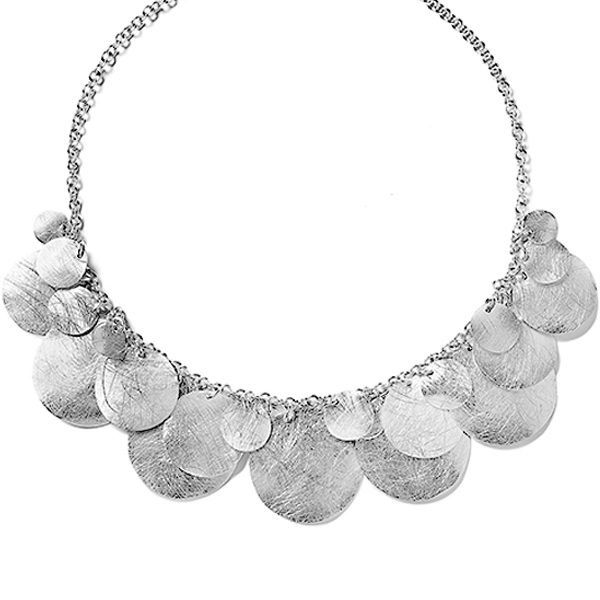 KO168   CIRCULITOS NECKLACE       Kaotica Finish