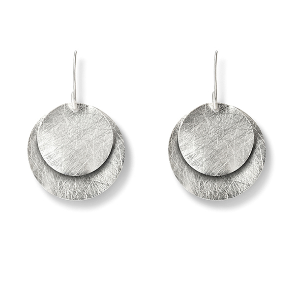 KO171   CIRCULITOS EARRINGS       Kaotica Finish