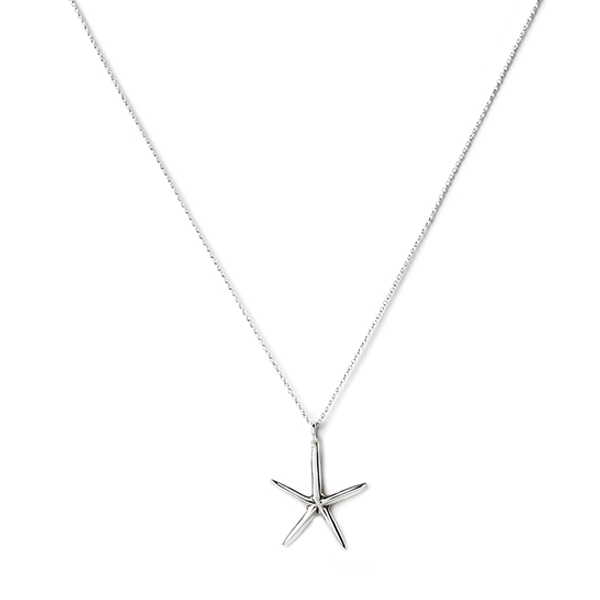 V  G580   ANISE STARFISH PENDANT      High Polish Finish