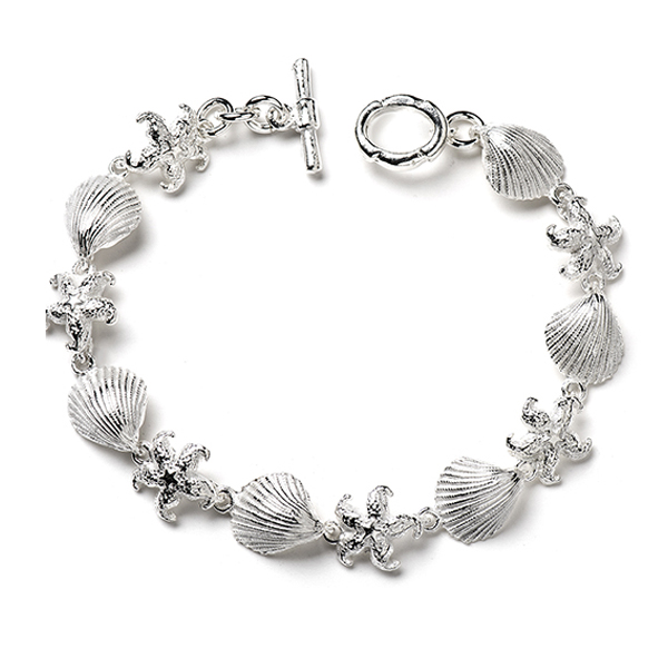 MM331   SEA LIFE BRACELET      High Polish Finish