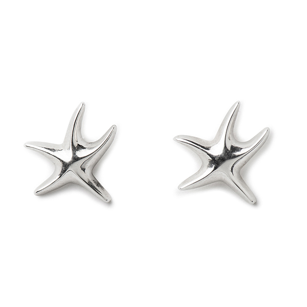 VG434   NIMA STARFISH STUDS        High Polish Finish