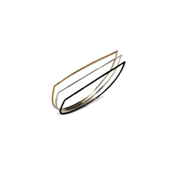 VG981   TRILOGY RINGS    Black Rhodium and 18K Gold Plate over Sterling Silver; High Polish Finish; Set of 3