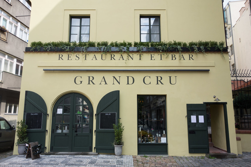 Billedresultat for grand cru wine bar prague