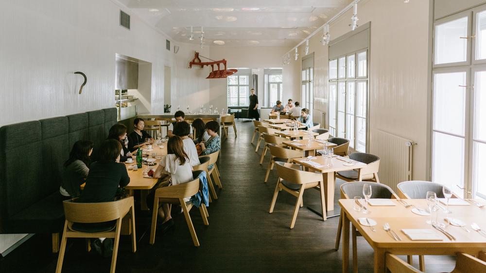 Field Michelin star restaurant Prague
