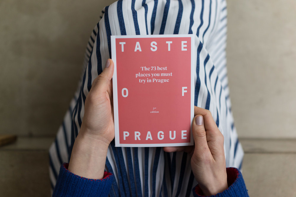 Prague Foodie Map by Taste of Prague
