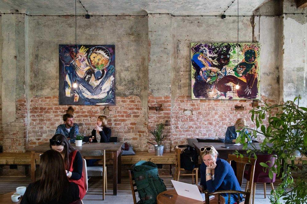 Kavarna co hleda jmeno, Prague