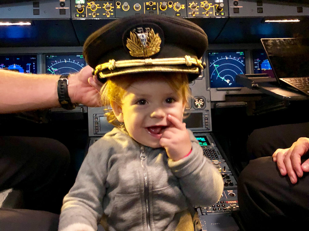 Flying with an infant - tips and tricks