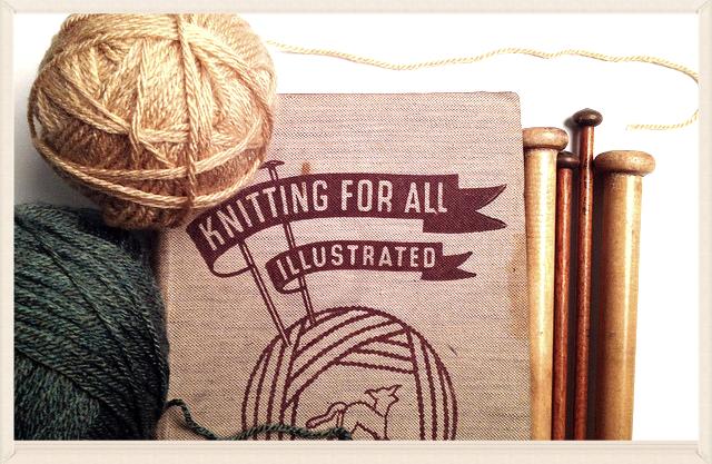 Knitting class text