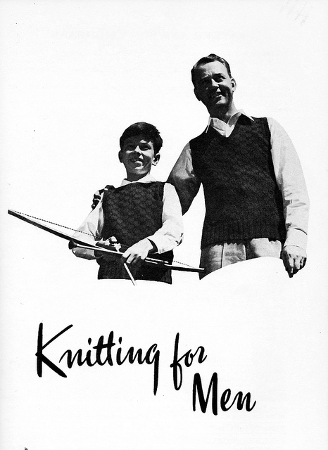 Handknitting for men