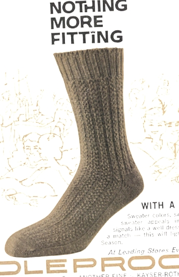 Knitting socks that fit
