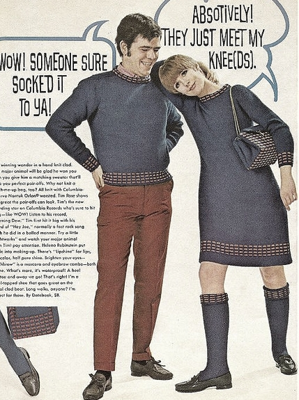 Knitted socks for teens