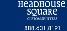Exterior Wood Shutters by Headhouse Square