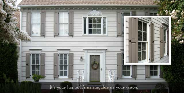 Wonderful Exterior Shutters And Shutter Hardware