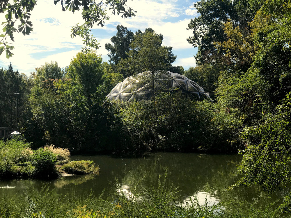 The Climatron at the Missouri Botanical Garden, St. Louis.