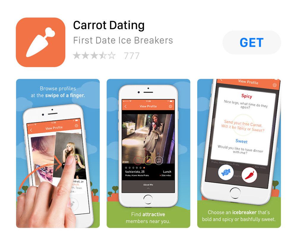 Carrot dating experience