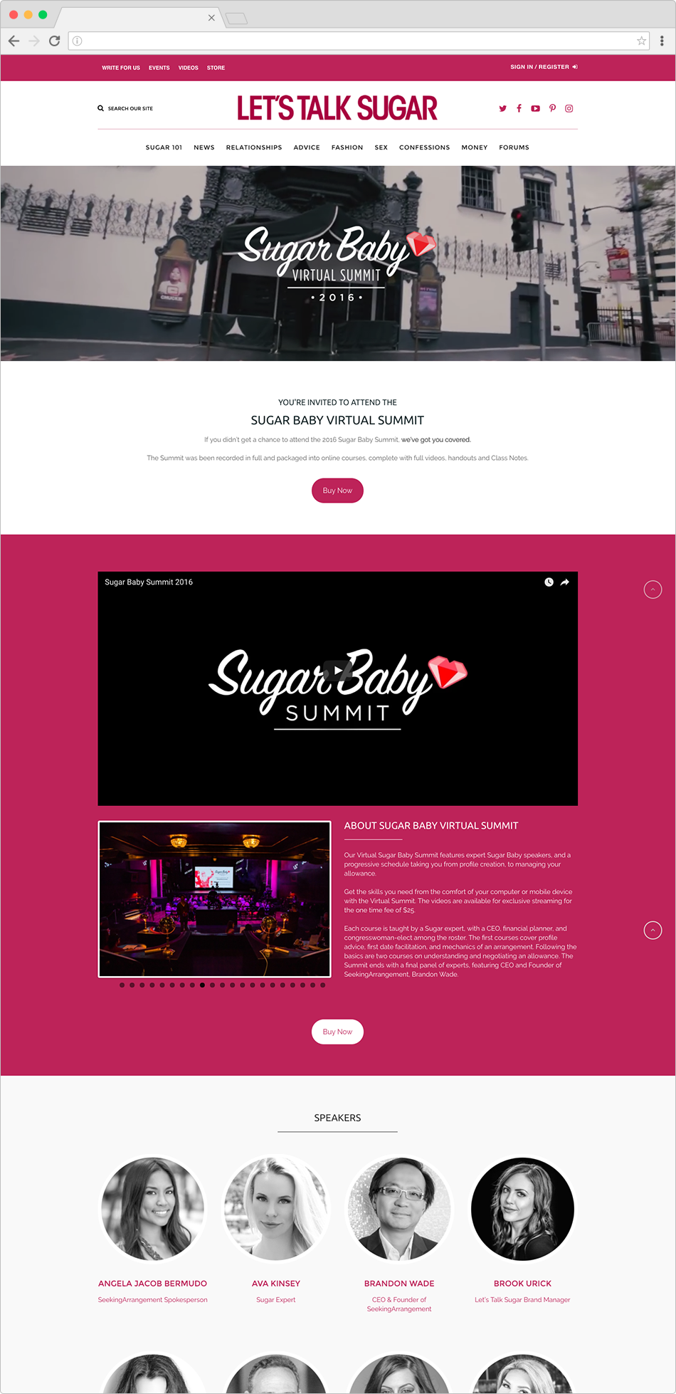 Sugar Baby Virtual Summit