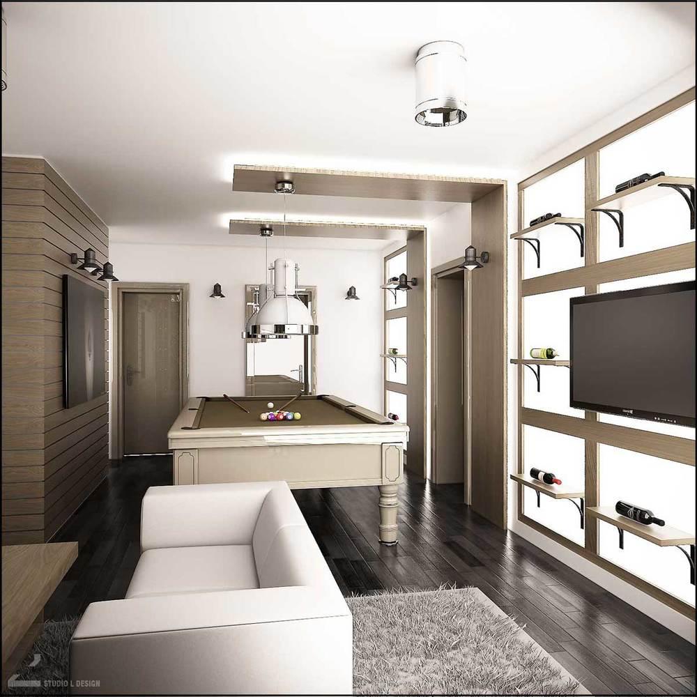 Billiard room design