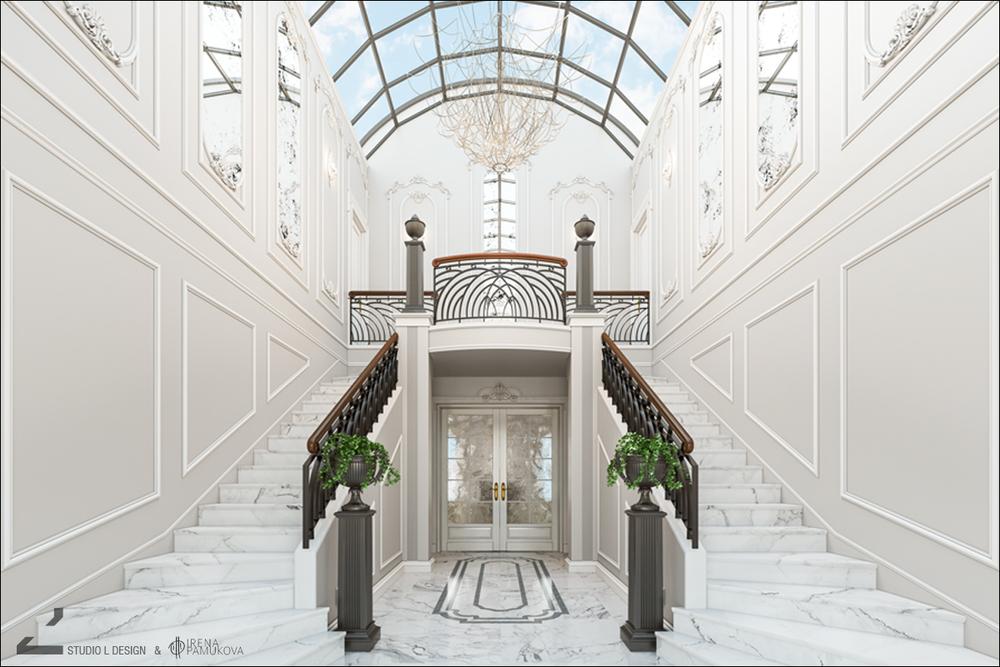BAROQUE STAIRCASE INTERIOR DESIGN