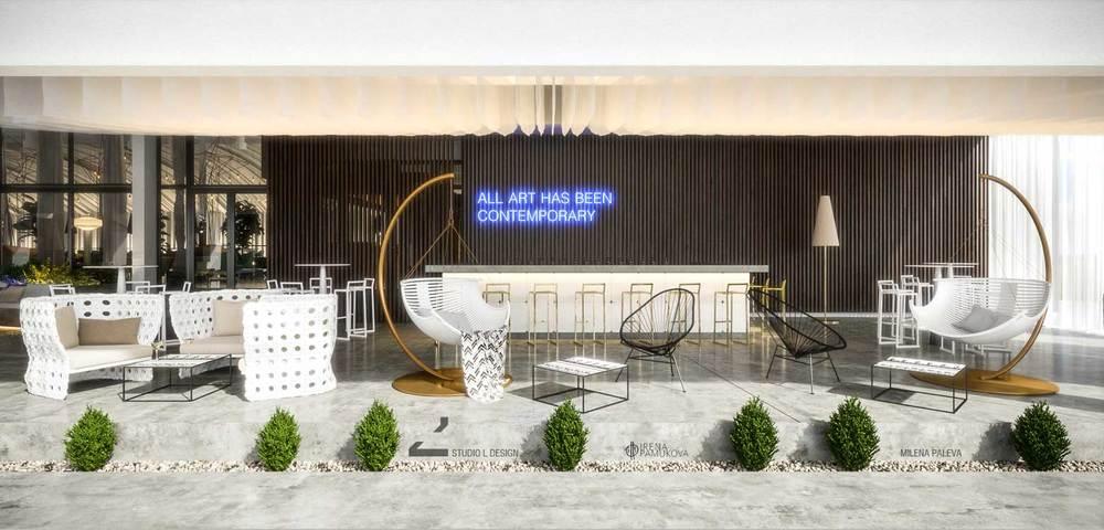Terrace bar design