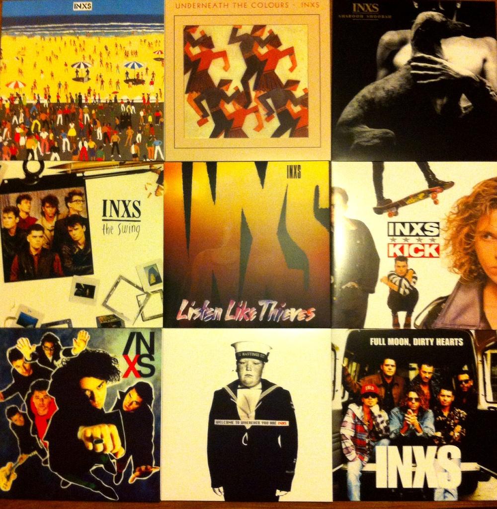 INXS box