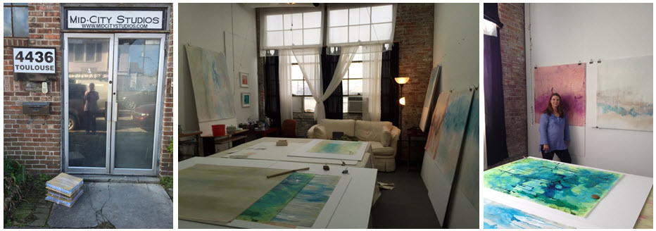 My studio in New Orleans.