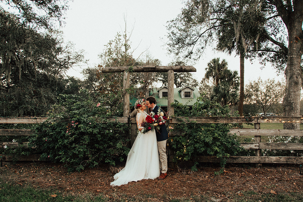Mikaela and Brandon - the flowers, the donut wall, the huge field. this wedding came straight out of a dream