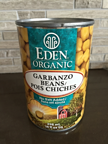 Eden Organic is my favourite brand of chickpeas/garbanzo beans.