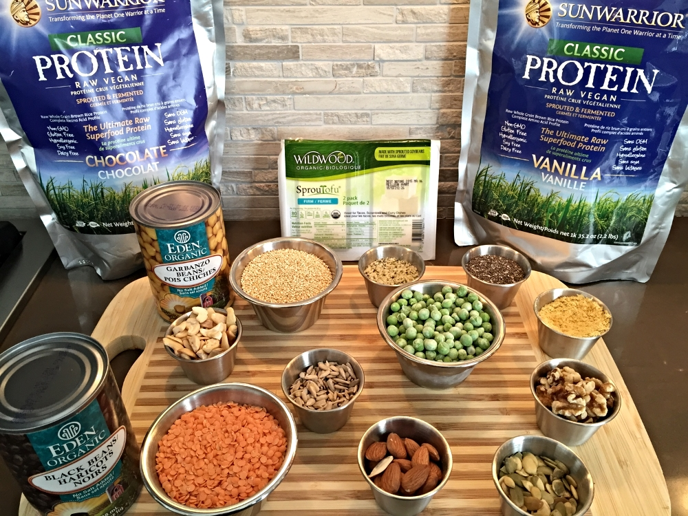 Some of my favourite go-to plant-based protein sources!