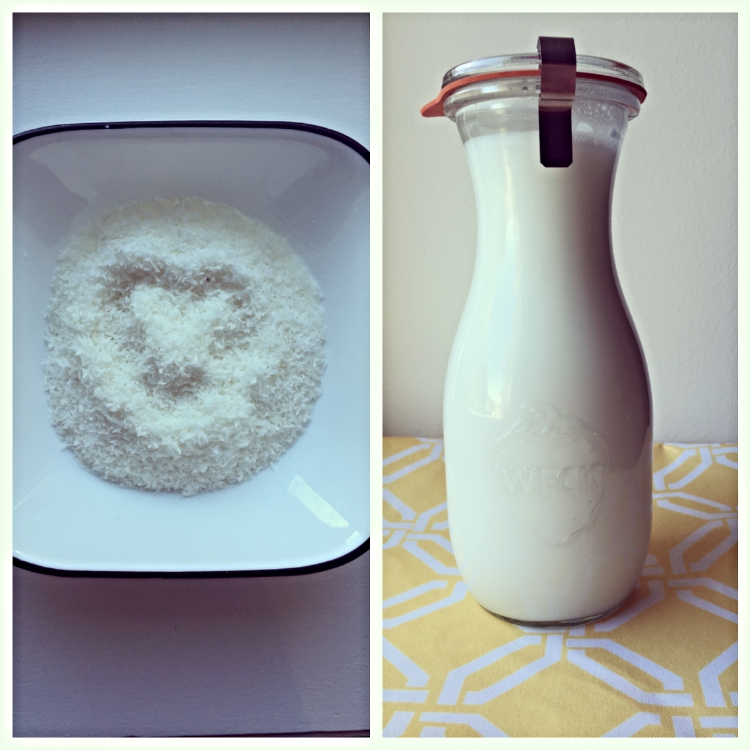 From shredded coconut to delicious, creamy coconut milk!