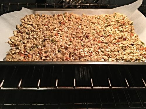 Ready, set, BAKE my granola!