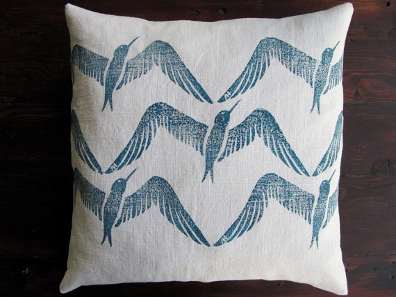 Anne Hall Designs  pillow,  $42