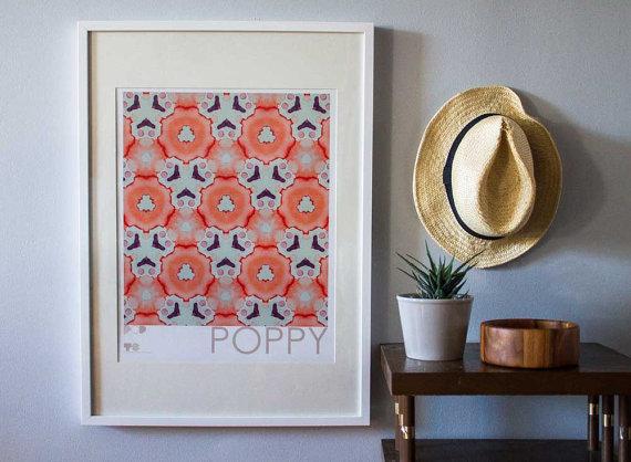 POPbyTS  16x20 digital art print , $35