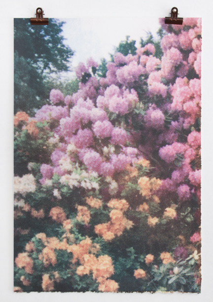 Print Club Boston  15x22 hand-pulled screenprint,  $100