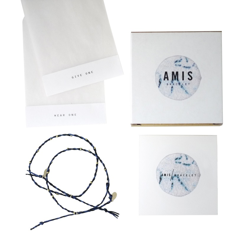 Spark + Pepper No. 22 Amis bracelets, set of 2, $60