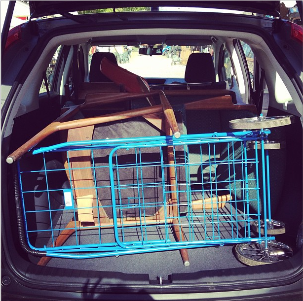 And don't forget that your cart has to fit in the trunk, too!