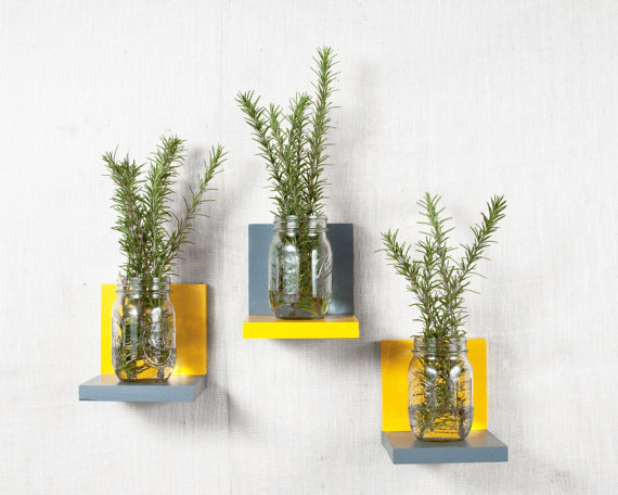 Another Cup set of 5 floating shelves, $44.50