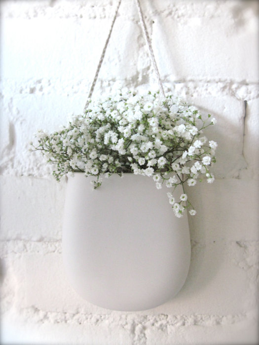 Hideminy New York ceramic vase, $49