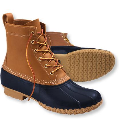 """L.L. Bean  8"""" boots,  $109"""