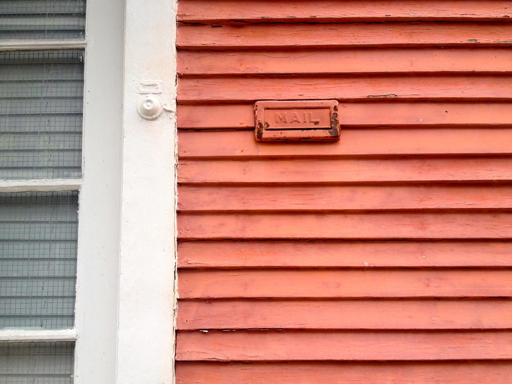 Sorbet mail slot.