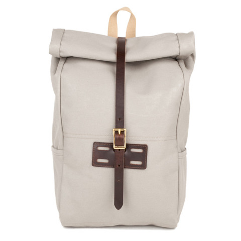 Archival Clothing  roll-top backpack,  $220