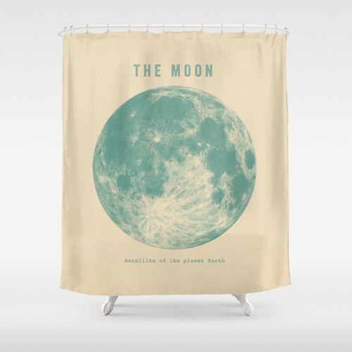 Terry Fan for Society 6  shower curtain , $68