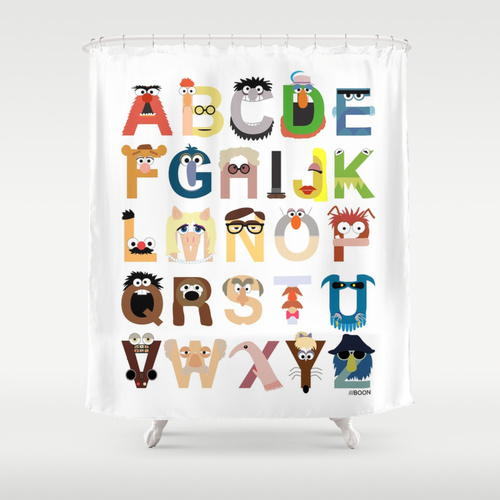 Mike Boon for Society 6  shower curtain , $68