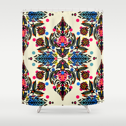 Micklyn for Studio 6  shower curtain , $68