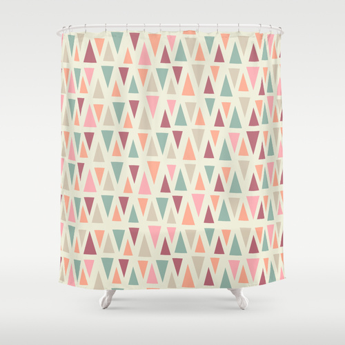 Anna Deegan for Society 6  shower curtain , $68