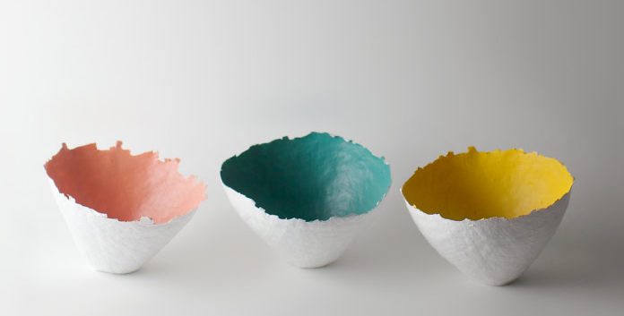 "Paper burst vessels  available in 6"" ($52) or 8"" wide ($64)"