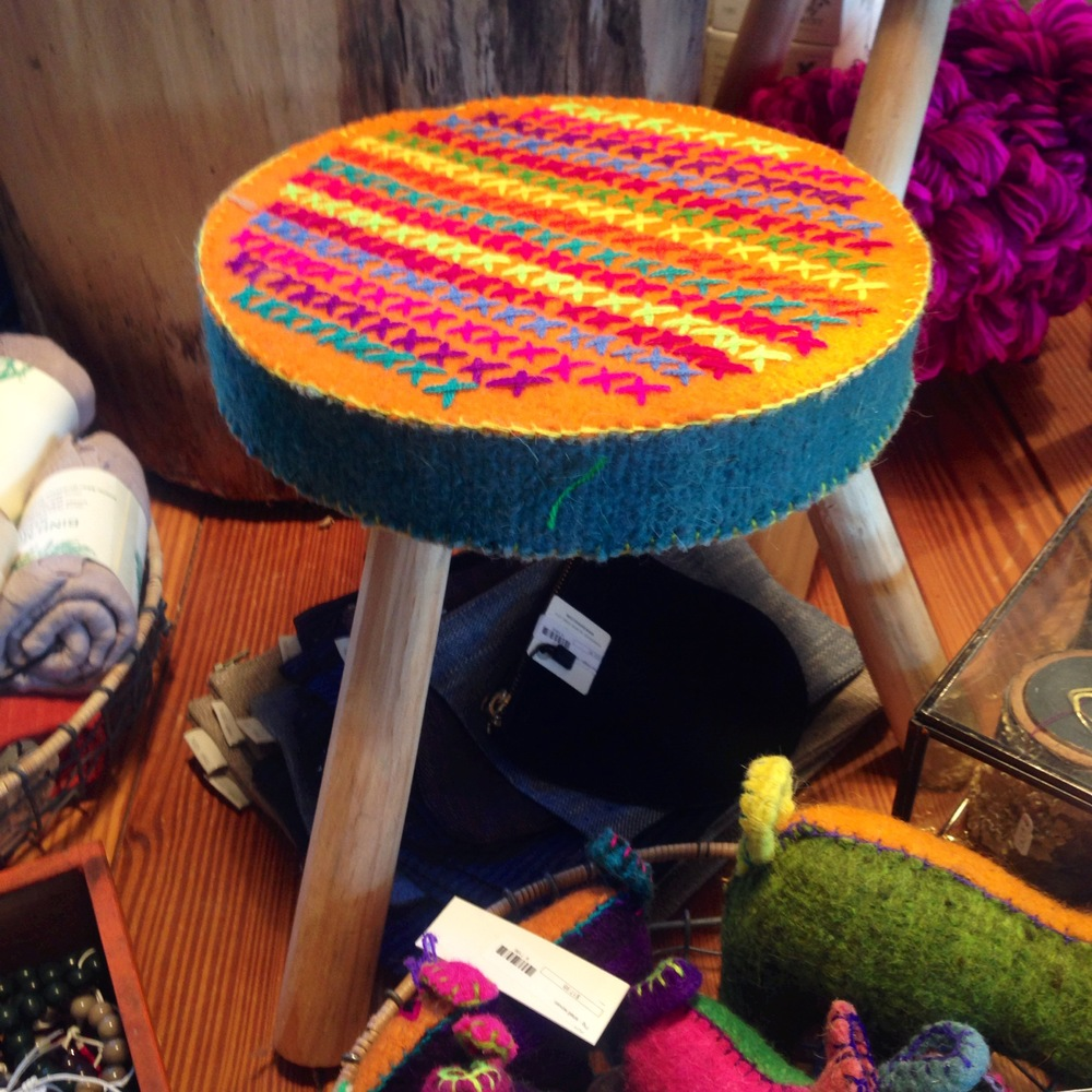 Mexican milking stool