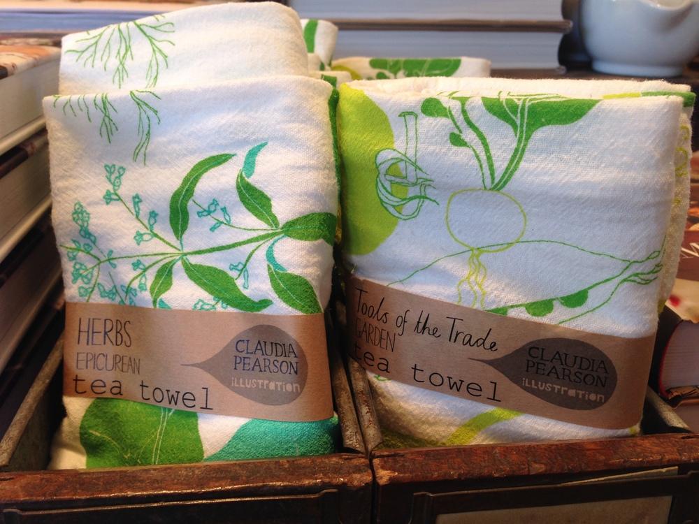 Claudia Pearson tea towels
