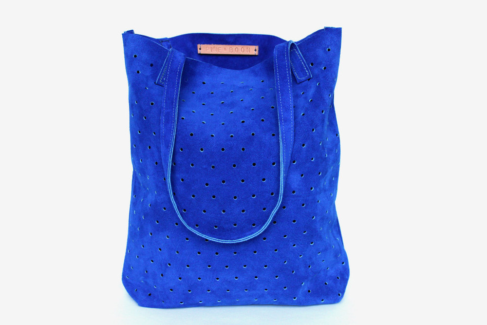 Pine & Boon  perforated tote , $155